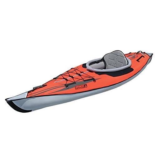 Advanced Elements AE1012-R AdvancedFrame Kayak Unisex, per Adulti, colore: Rosso