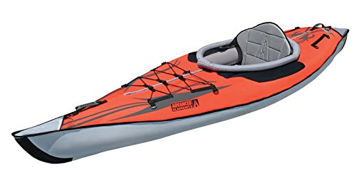 Advanced Elements AE1012-R AdvancedFrame Kayak, Unisex Adulto, Rojo, 320 cm
