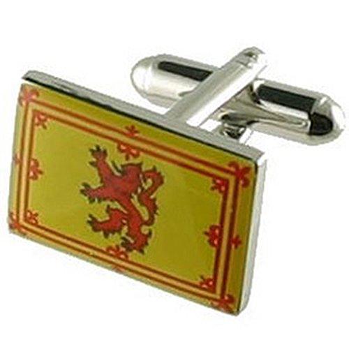 Boutons de manchettes Boutons de manchette Drapeau Ecosse~Royal Scottish Flag Pochette Cadeau Sélectionner manchette