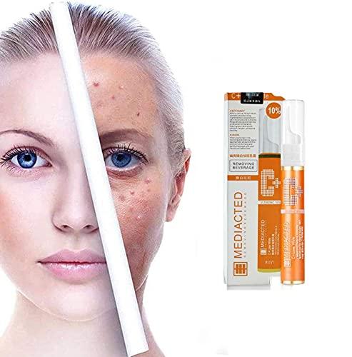 Instant Blemish Removal Gel for Face - 15ml Instant Blemish Removal Gel Vc Whitening Freckle Serum Brighten Skin, VC Serum Brighten Skin Care Cream Skin Whitening Pen (1pcs)