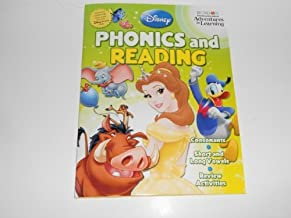 Disney Adventures in Learning Phonics & Reading Workbook (Grade 1) by Bendon (2004-01-01)