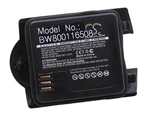 vhbw Li-Ion Akku 700mAh (3.7V) für schnurlos Festnetz Handy wie 660088, BKB 902 44/1, BKB 902 44/1R1A, BKBNB 902 44/1