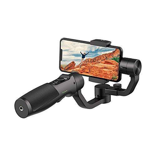 Estabilizador de cardán de 3 ejes para smartphone, con seguimiento de la cara, movimiento lapso de tiempo, control de la aplicación, estabilizador de cardán de mano, para 11 Pro Max/Samsung/Huawei