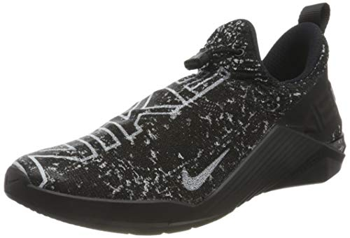 Nike Metcon React Mens Training SH, Zapatillas Unisex Adulto, Black/White/Black, 45 EU