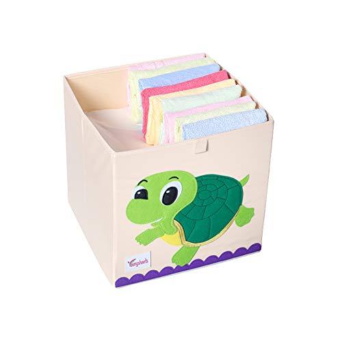 Aufbewahrungsbox Kinder Spielzeugkiste Kinderzimmer Aufbewahrungsbox für baby (Schildkröte)