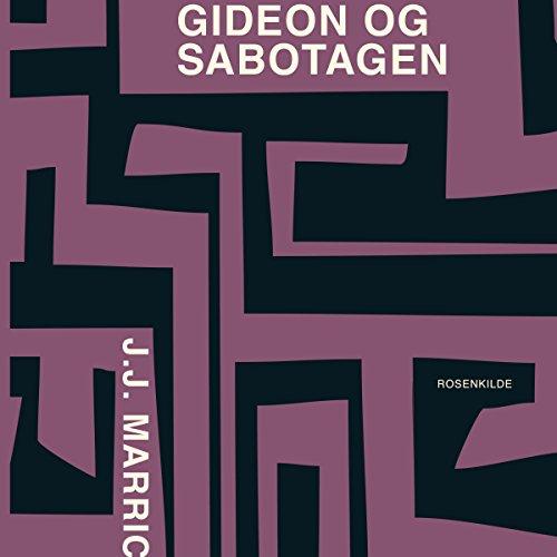 Gideon og sabotagen audiobook cover art