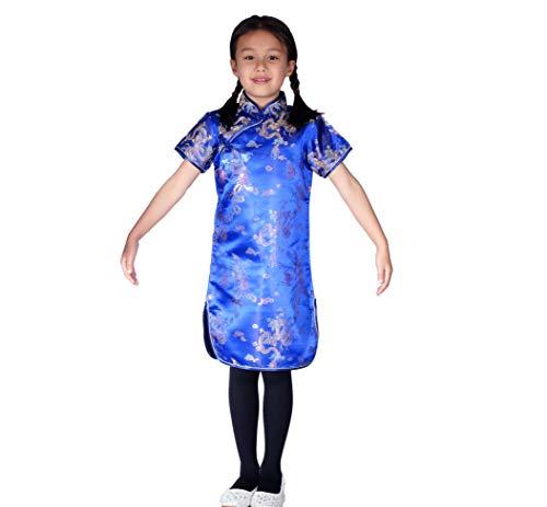 Cinda kleding draak en Phoenix Qi Pao