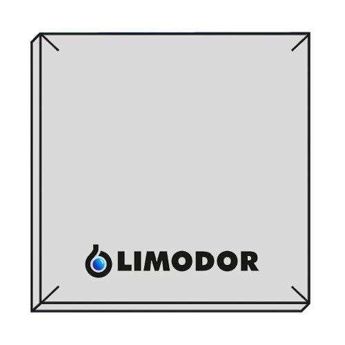 LIMODOR 10x Original - Filter - Filtereinsatz für Badlüfter F/M - Limot Compact 238x238mm - Ersatzfilter - Art.-Nr.: 00070