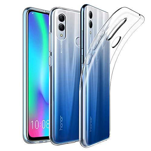 Amonke Handyhülle Für Huawei P Smart 2019, Silikon Transparent Hülle für Huawei P Smart 2019, Ultra Dünn TPU Durchsichtig Schutzhülle für Huawei P Smart 2019 (6.21 Zoll)