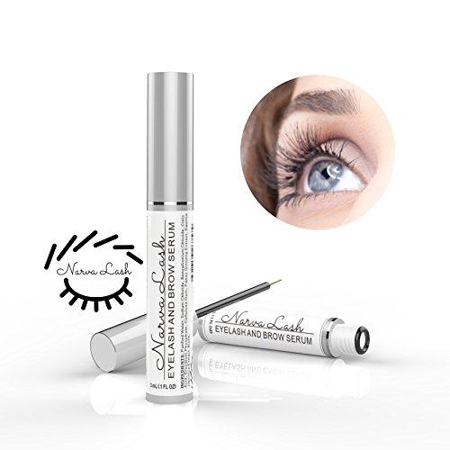 Narva Lash Hypoallergenic Eyelash & Eyebrow Enhancing Growth Serum | Natural Lash Boost | Eyelash & Brow Conditioner for Longer, Fuller & Thicker Lashes & Brow - Amazon Vine
