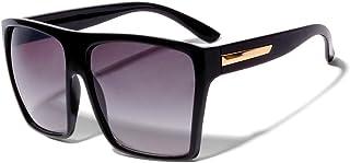 نظارات شمسية عصرية Kim K من ShadyVEU كبيرة الحجم مربعة الشكل بشكل شبه منحرف