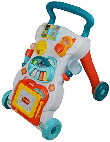 Best For Kids Laufwagen Dreams Lauflernhilfe mit Musik und Spielzeugen blau