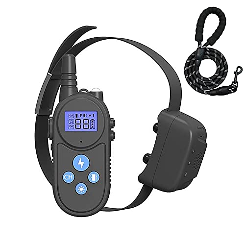 Libery 4 en 1 El Mejor Collar Anti-Ladridos,Collar Frena Ladridos Intercomunicador en Tiempo Real 1500m Premium Dispositivo Perros Pequeños Y Grandes Soporta de 1 a 3 Perros