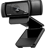 Logitech C920 - USB HD Pro Webcam, negro