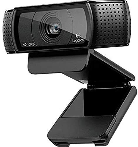 Logitech C920 HD Pro Webcam (USB, Autofokus, Mikrofon) schwarz