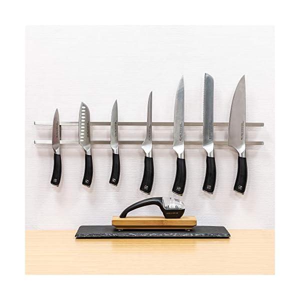 Rockingham Forge MK-600SS - Soporte magnético para cuchillos
