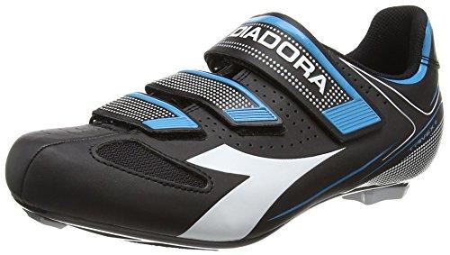 DiadoraTrivex Ii - Zapatos de Ciclismo de Carretera Unisex adulto , color negro, talla 41 EU