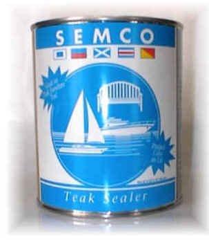 Semco Teak Sealer, 1 Quart, Honeytone