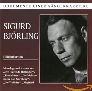 Wagner : Arien und Duette. Björling.