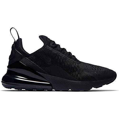 Nike W Air Max 270, Scarpe Running Donna, Black Black Black 006, 42 EU