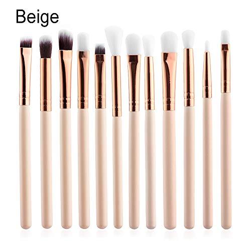 12Pcs nouvelle lip la beauté maquillage eye - liner poudre foundation la brosse