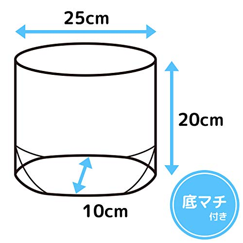 レック立てる水切り袋クリアカラー(100枚パック)三角コーナー不要自立タイプK00175