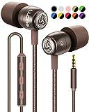 LUDOS Clamor Kopfhörer In Ear - Wired Ohrhörer mit Mikrofon und Bass, Premium-Audioqualität, Memory Foam, Verstärktes Kabel, Earphones mit Lautstärkeregler für iPhone, iPad, Computer,...