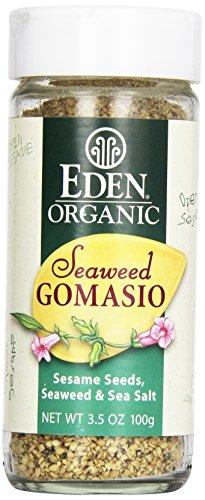 Eden Organic Seaweed Gomasio, 3.5 oz Galss Jar, Sesame Salt