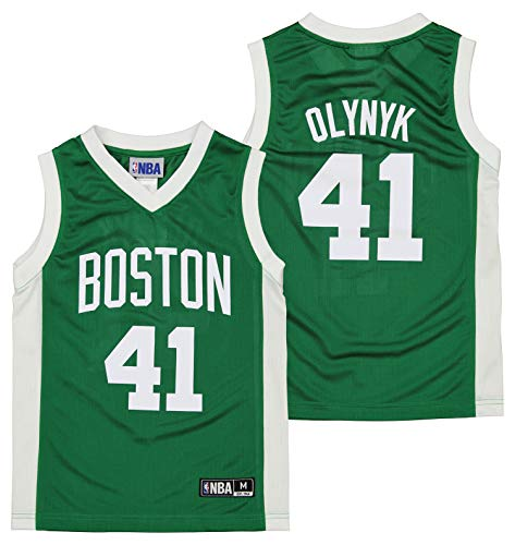 Outerstuff NBA Kelly Olynyk Boston Celtics Boys (4-20) Replica Jersey - X-Small (4)