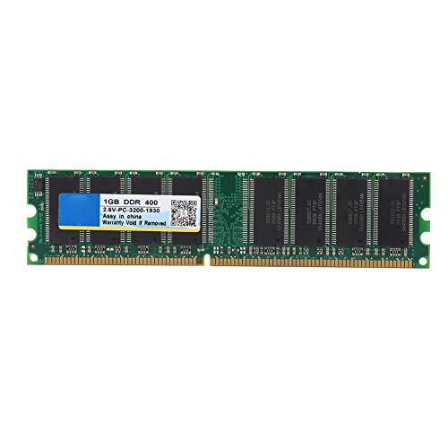 1GB DDR Speicherbank, 2,6V 184Poliges 400MHz PC-3200 Speicher RAM Board Modul mit Stabiler Leistung für Desktop Computer Motherboard