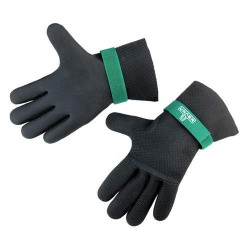 Unger GLOV4 Ergotec Neopren-Handschuhe, Größe S, 24 cm - 25 cm, Umfang der Hand, 10 Stück