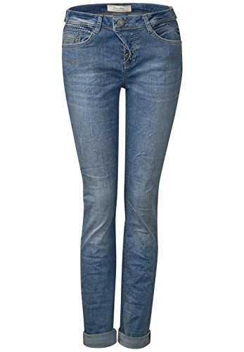 Loose Fit Jeans Mika - authentic indigo wash
