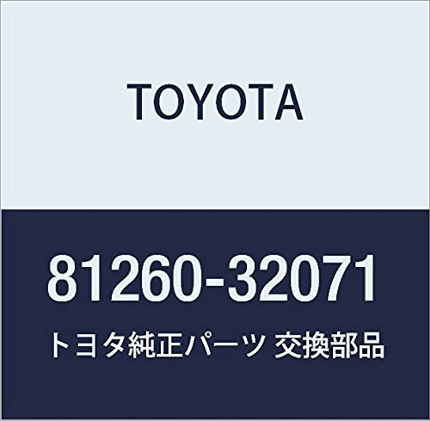 Toyota 81260-32071 Glove Box Lamp Assembly