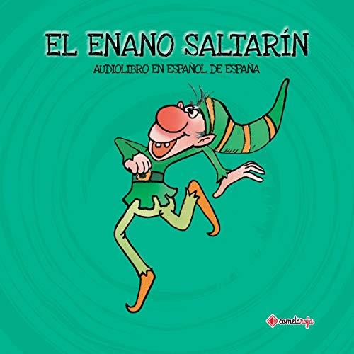 Diseño de la portada del título El Enano Saltarín
