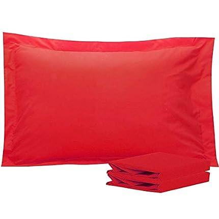 NTBAY - Fundas de almohada de microfibra cepilladas, suaves y agradables, sin arrugas, sin decoloración, resistente a las manchas, paquete de 2 unidades