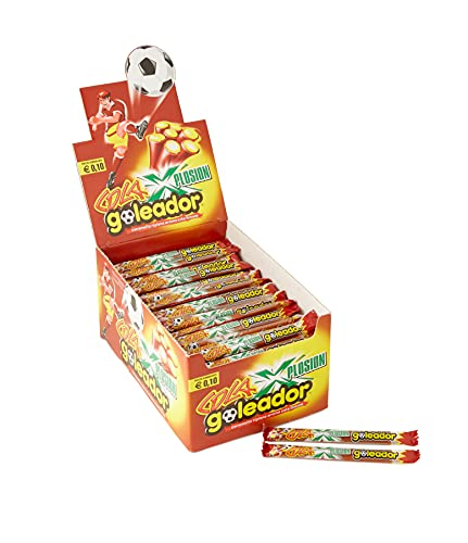 Goleador Xplosion Cola, Caramelle Gommose Ripiene, Aroma Cola, Box da 150 Caramelle Incartate Singolarmente - Idee Regalo per Compleanni e Feste