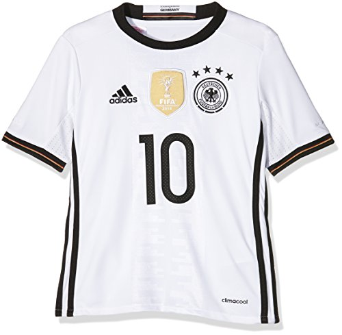 adidas Kinder Trikot DFB Home Jersey Youth Podolski, White, 128