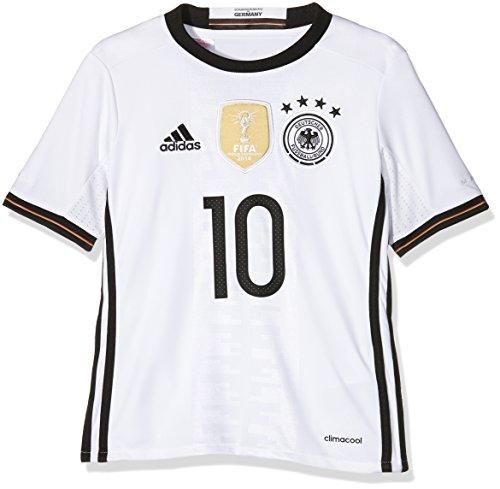 adidas Kinder Trikot DFB Home Jersey Youth Podolski, White, 140