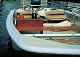 Taylor Hizo Productos dockguard Barco 3/4Redondo Gunnel Guardia, Blanco