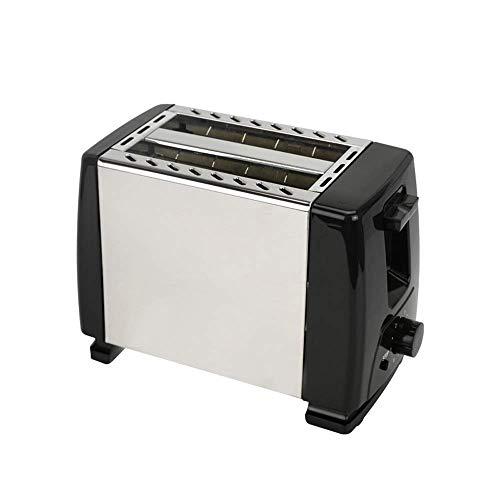 GJJSZ Utensilios para Exteriores,máquina de Desayuno para el hogar,tostadora de Pan con calefacción,2 rebanadas,máquina de Acero Inoxidable,Ranura Ancha,Totalmente automática