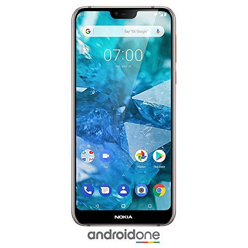 Nokia 7.1 - Android 9.0 Pie - 64 GB - Dual Camera - Dual SIM Unlocked Smartphone (Verizon/AT&T/T-Mobile/MetroPCS/Cricket/H2O) - 5.84 FHD+ HDR Screen - Steel - U.S. Warranty