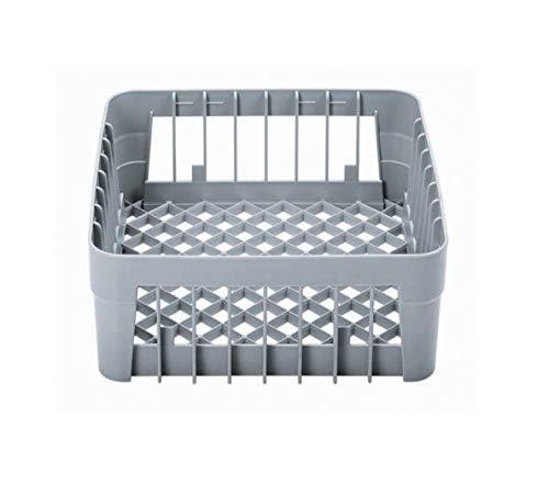 Cesta lavavajillas lavavasos de barra 350x350x150 mm. hosteleria