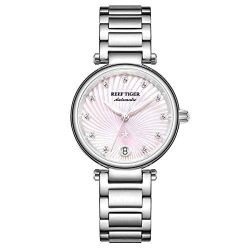 Reef Tiger Damen-Armbanduhr Analog Automatik Edelstahl RGA1590-YPY