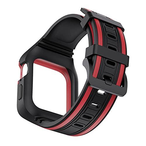 Correa de TPU suave con caja de marco para Apple Watch SE...