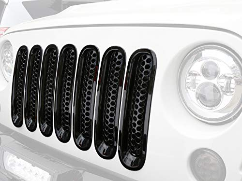 jeep wrangler grille guard - 7