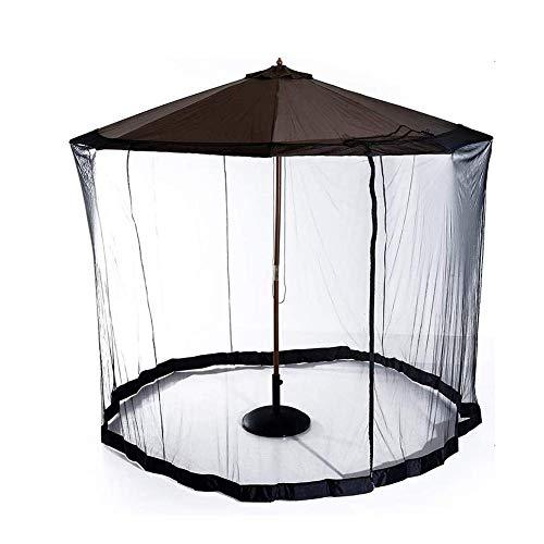 SWEET Moustiquaire d'extérieur, moustiquaire, 7,5 pi, Couvercle de Parapluie, écran de Compensation, Moustique, Parasol, convertisseur