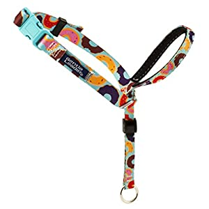 PetSafe Gentle Leader Chic Head Collar, Medium, Donuts – GL-HC-C-M-DNT