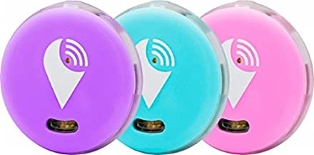 $20 » TrackR pixel - Bluetooth Tracking Device. Item Tracker. Phone Finder. iOS/Android Compatible - 3 Color, Aqua, Purple, & Pink.