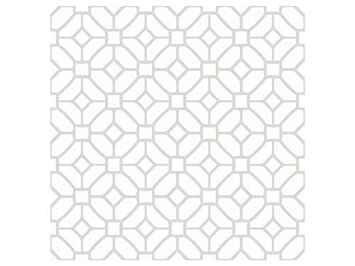 Oedim Pack 50 Vinilos Adhesivos para Suelo Figuras Geométricas, Vinilo Ecológico, Autoadhesivos para Decorar o Renovar. Suelo Mate.