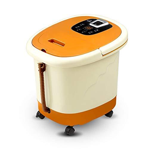 Z-Y voetmassage voetbad automatische verwarming voetbad elektrisch voetbad vat naar huis voetbad, 46 x 40 x 40 cm